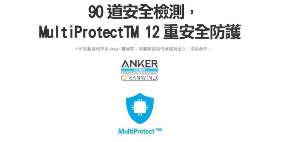 Anker PowerCore Speed 10000 QC3.0 行動電源-安全檢測圖